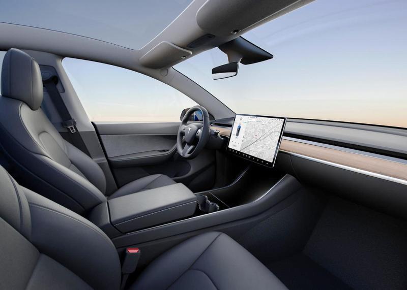 New Tesla Model Y Interior Dasboard with sleek and elegant Design