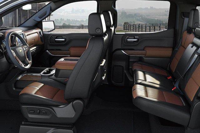 2021 Chevy Silverado Crew Cab Interior