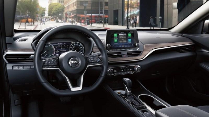 2021 Nissan Altima Interior