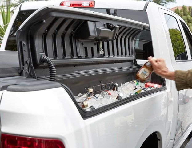 2021 RAM 1500 LARAMIE Quad Cab Box Storage