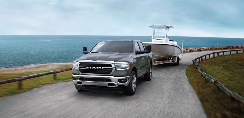 2021 RAM 1500 LARAMIE Quad Cab Towing