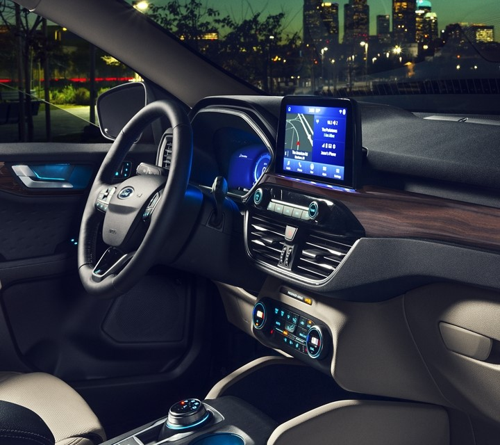 2022 Ford Escape Interior With New Ford Sync 3 entertaiment Features