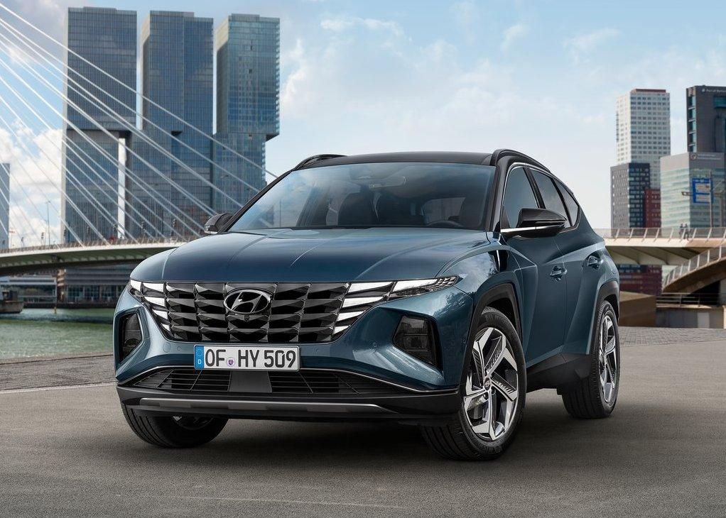 2022 Hyundai Tucson Exterior Changes