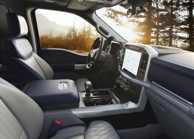 2022 Ford Ranger Hybrid Interior