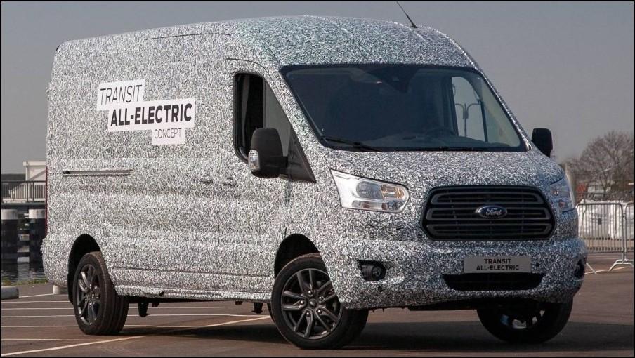 2022 Ford Transit Electric Range