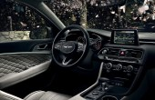 2022 Genesis G70 New Center Console