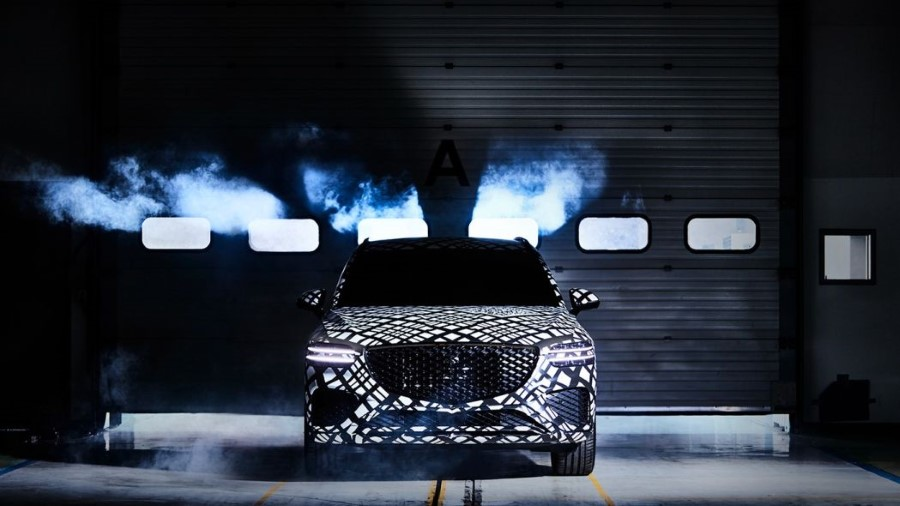 2022 Genesis GV70 Sport SUV Pictures