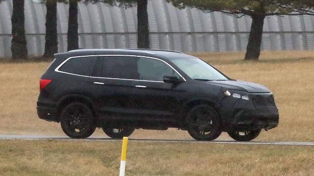 2022 Honda Pilot Spied Images
