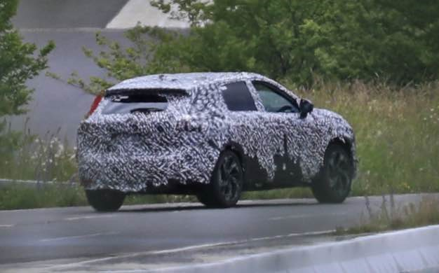 2022 Nissan Rogue Sport Spied Images