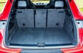 Porsche Cayenne GTS Coupe Trunk Cargo Volume