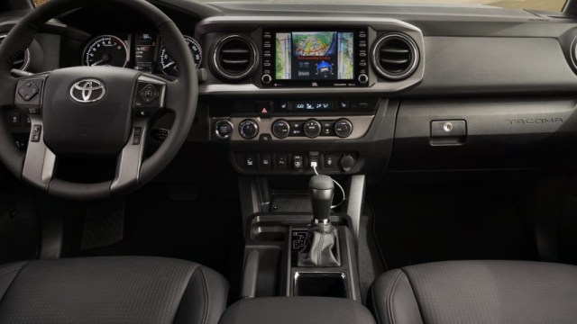 2022 Toyota Tacoma Dashboard Features