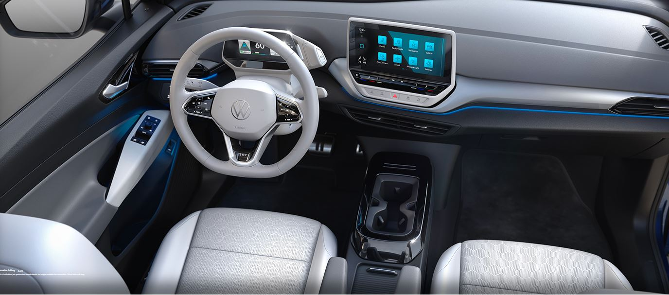 2022 VW ID.4 Interior - Dashboard With Hi Tech features