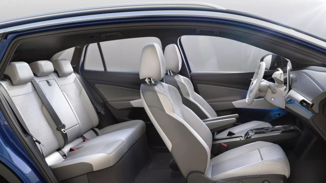 2022 VW ID.4 Seating Interior Seating Pictures