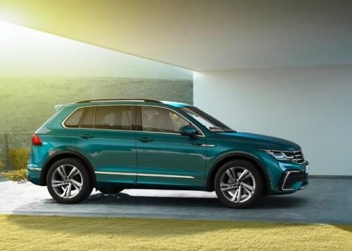 2022 VW Tiguan Dimensions