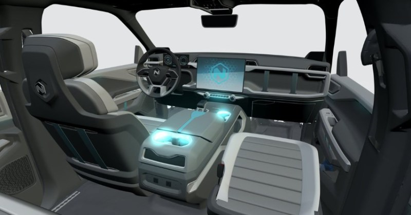 Nikola Badger Interior Features and Detail