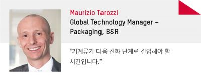 Maurizio Tarozzi Global Technology Manager – Packaging, B&R
