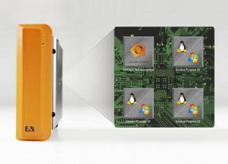 B&R의 하이퍼바이저를 사용하면 여러 운영체제를 단일 장치에서 병렬로 실행하고 가상 네트워크를 통해 서로 통신할 수 있다.
