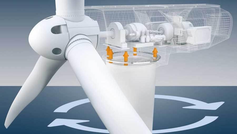 요(yaw) 시스템은 에너지 수익률을 극대화하기 위해 터빈을 바람 방향으로 회전시킨다. 이것은 일반적으로 기계적 마모의 증가를 가져오지만, ACOPOS P3과 같은 지능형 서보 드라이브는 큰 차이를 만들어낼 수 있다.