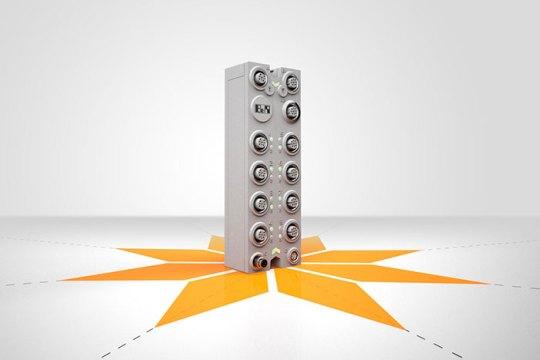 B&R의 새로운 POWERLINK 버스 컨트롤러는 스타 토폴로지 CAN 네트워크로 더 나은 대역폭 활용이 가능하다.