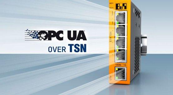 B&R은 벤더에 얽매이지 않는(vendor-agnostic) TSN 상의 OPC UA (OPC UA over TSN) 통신을 적용한 융합 실시간 네트워크용 TSN 머신 스위치로 포트폴리오를 확대하고 있다.