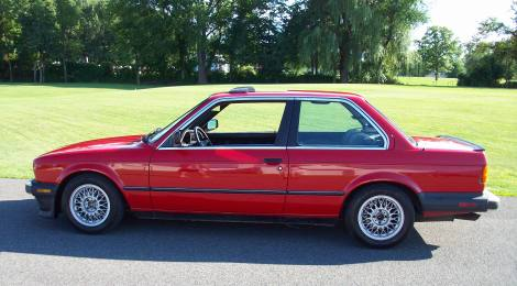 1987 BMW 325is : 5-speed