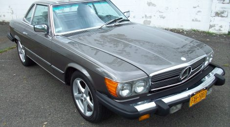 SOLD 1982 Mercedes 380SL