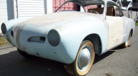 SOLD 1965 Karmann Ghia Coupe