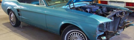 1967 Mustang Restoration Project
