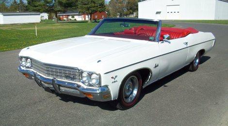 SOLD 1970 Impala 454 Convertible