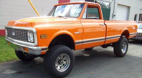 SOLD 1972 Cheyenne K20