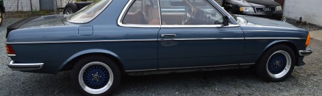1982 Mercedes 280CE Restoration