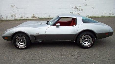 SOLD 1978 Corvette Silver Anniversary