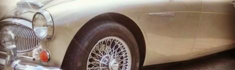 Autin Healey 3000 BJ8 Convertible top restoration
