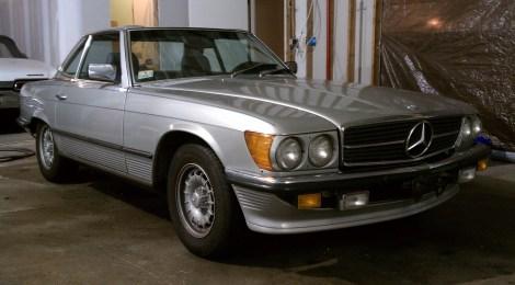 SOLD 1985 Mercedes 380SL