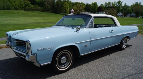 1964 Pontiac Catalina : Tri-Power 4-speed Hot Rod