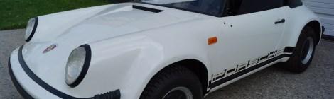 Children's car of the Rich & Famous : 1987 Porsche 911jr