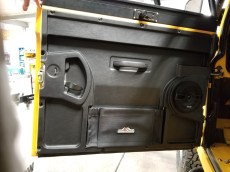 New Door panels with kicker speakers installed