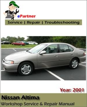 Nissan Altima L30 Service Repair Manual 2001   Automotive