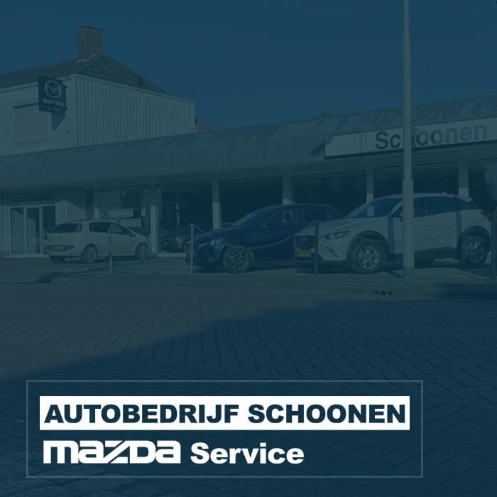 Autobedrijf Schoonen Mazda Service partner