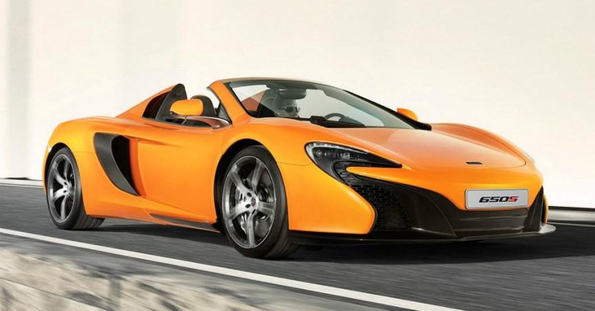 2015 McLaren 650S Orange