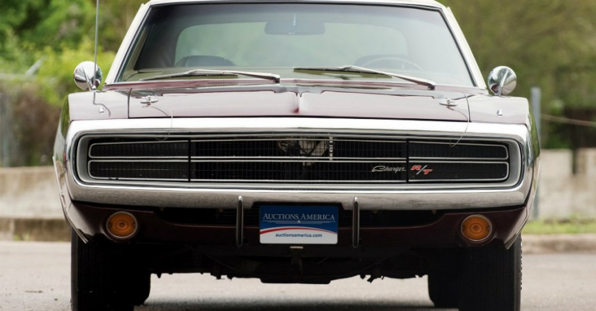 1970 Dodge Charger Front