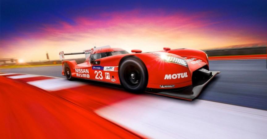 GT-R LM Nismo LMP1 Race Car