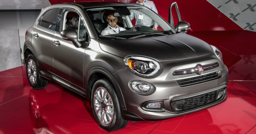 2016 Fiat 500X Coming to America