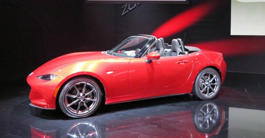 2016 Mazda Miata Red