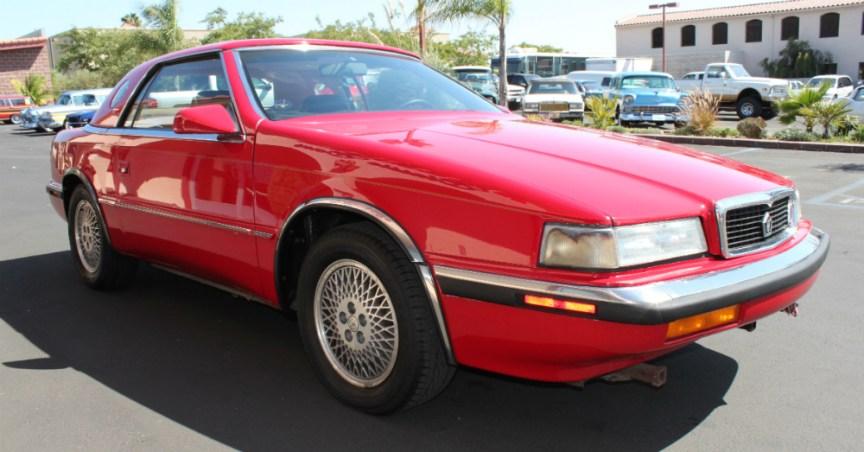 12.22.15 - 1990 Chrysler TC by Maserati