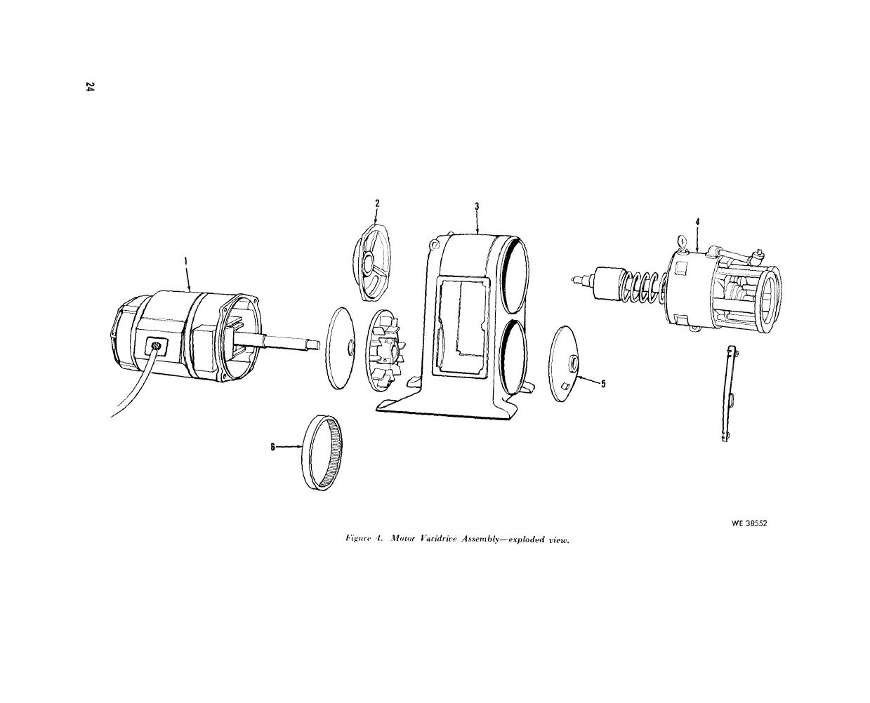 Figure 4 Motor Varidrive Assembly