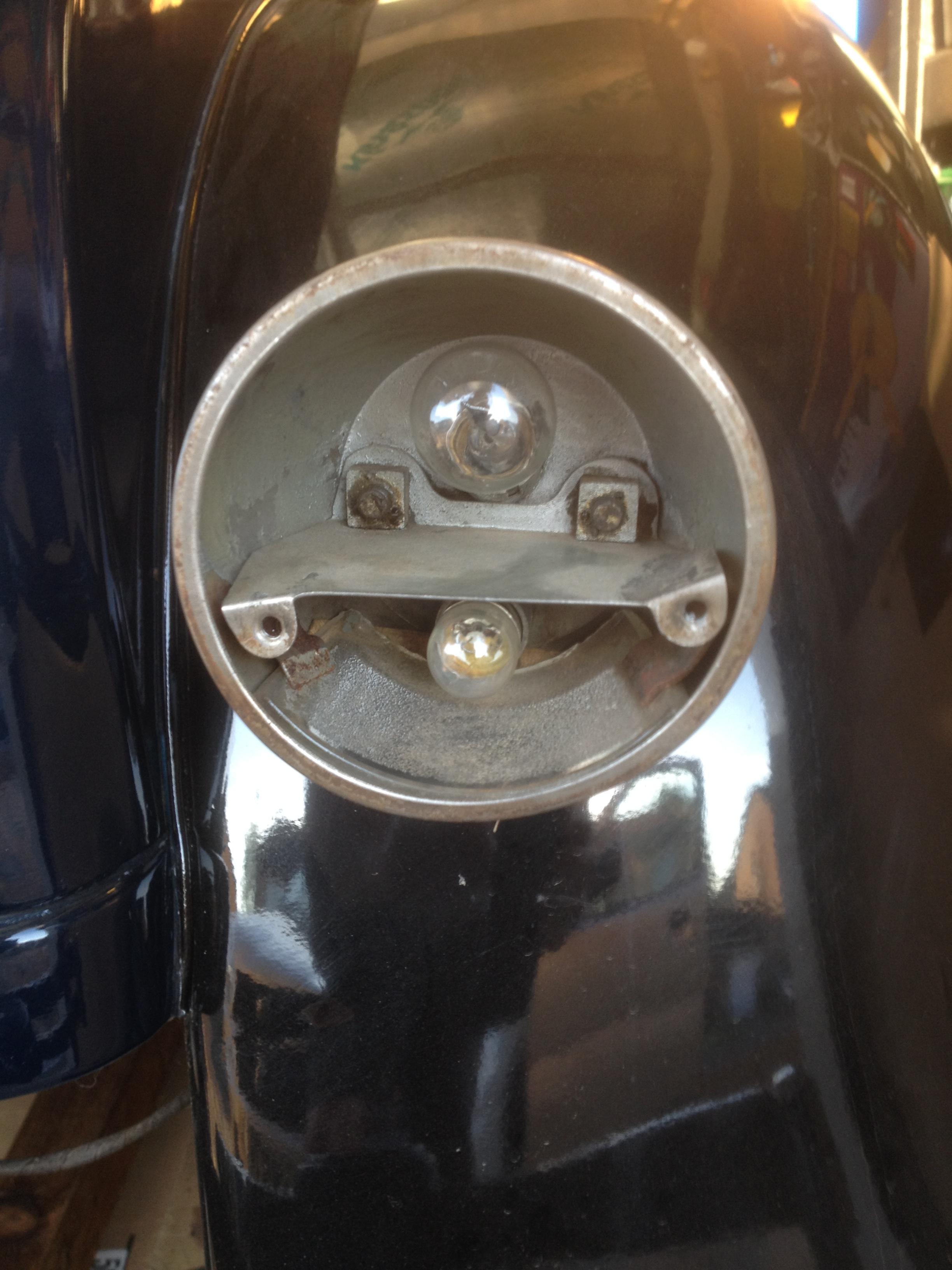 Replacing Rear Lens