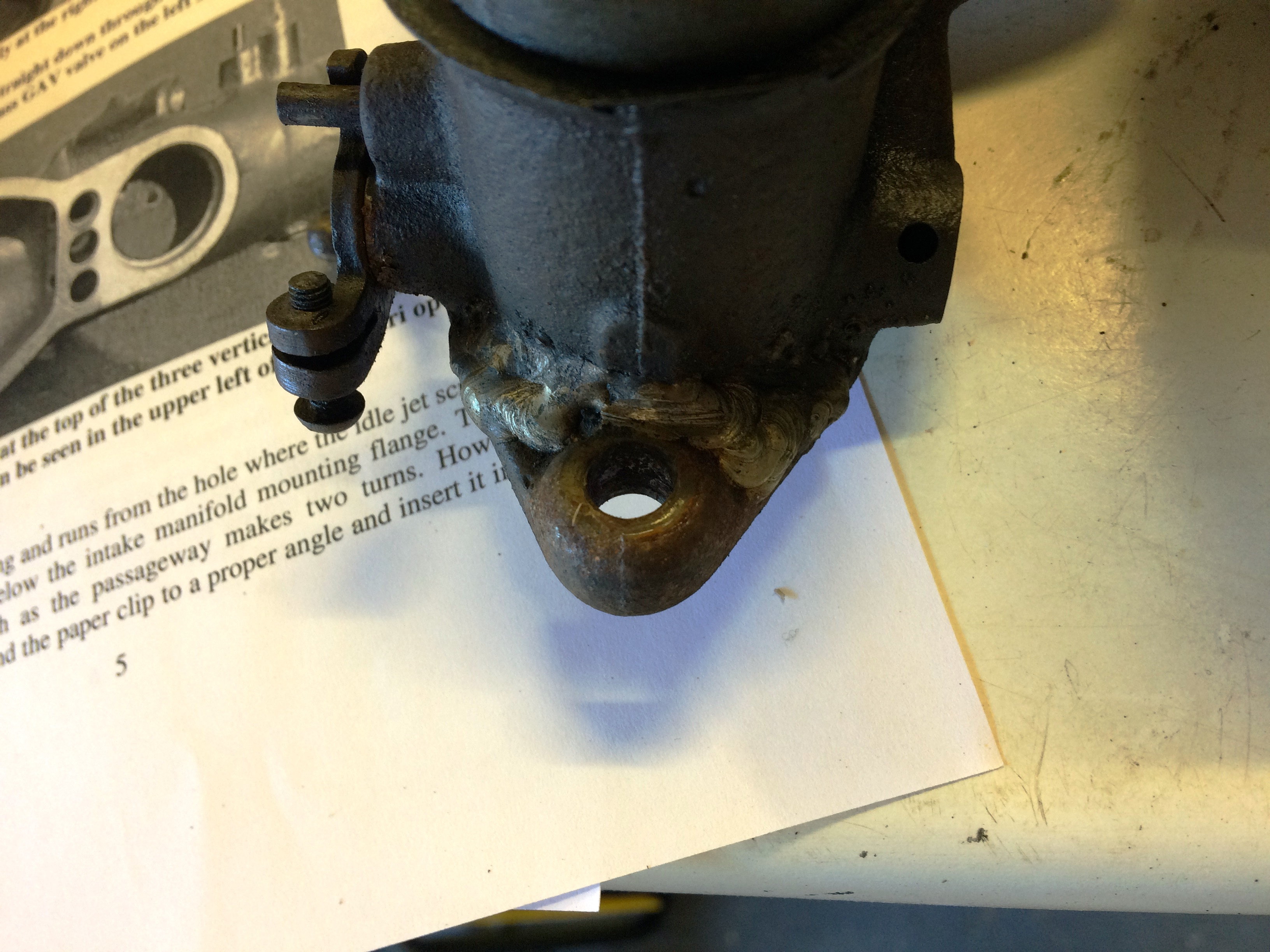 Model B Ford Carb Issues