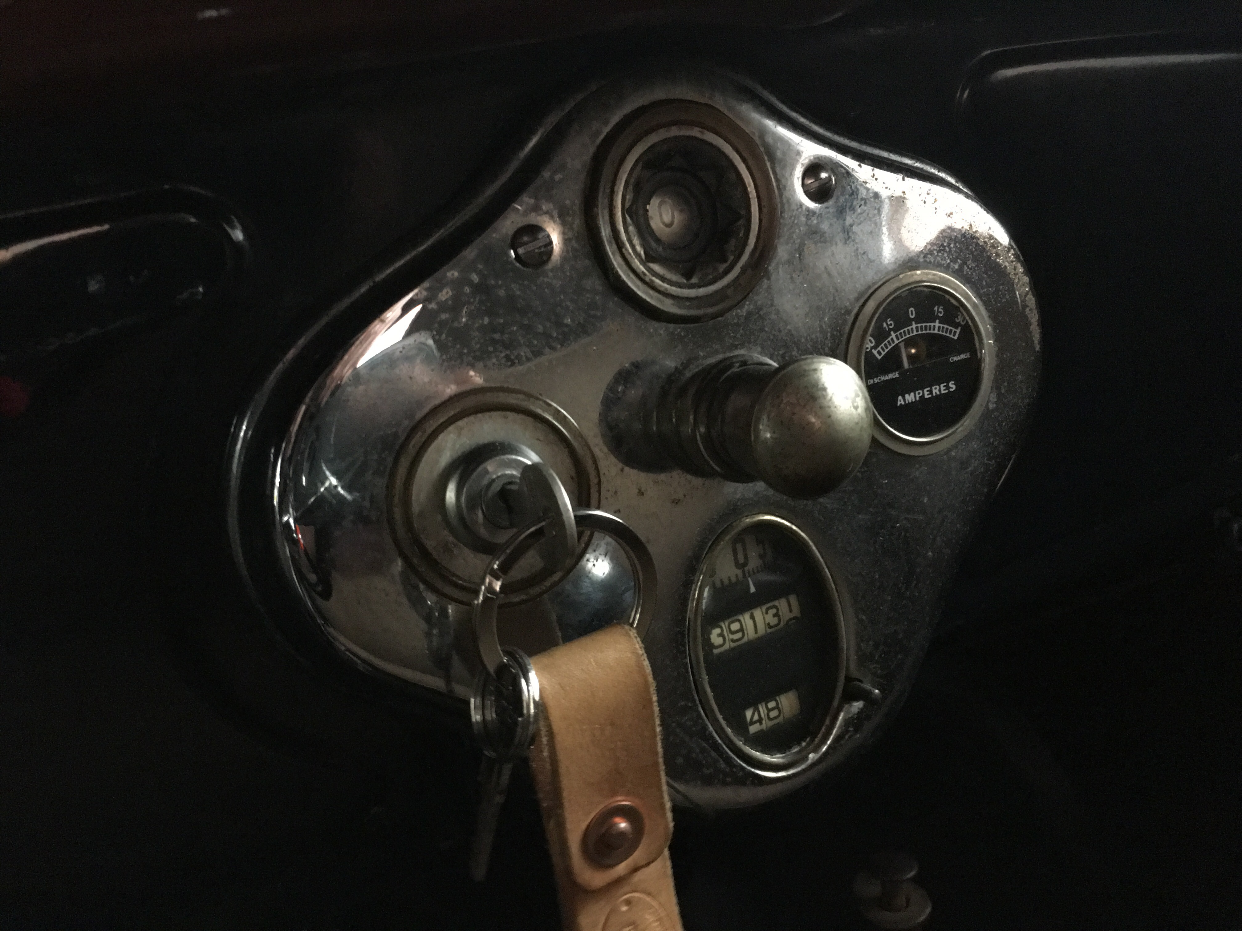 1929 Model A Dash and Ammeter