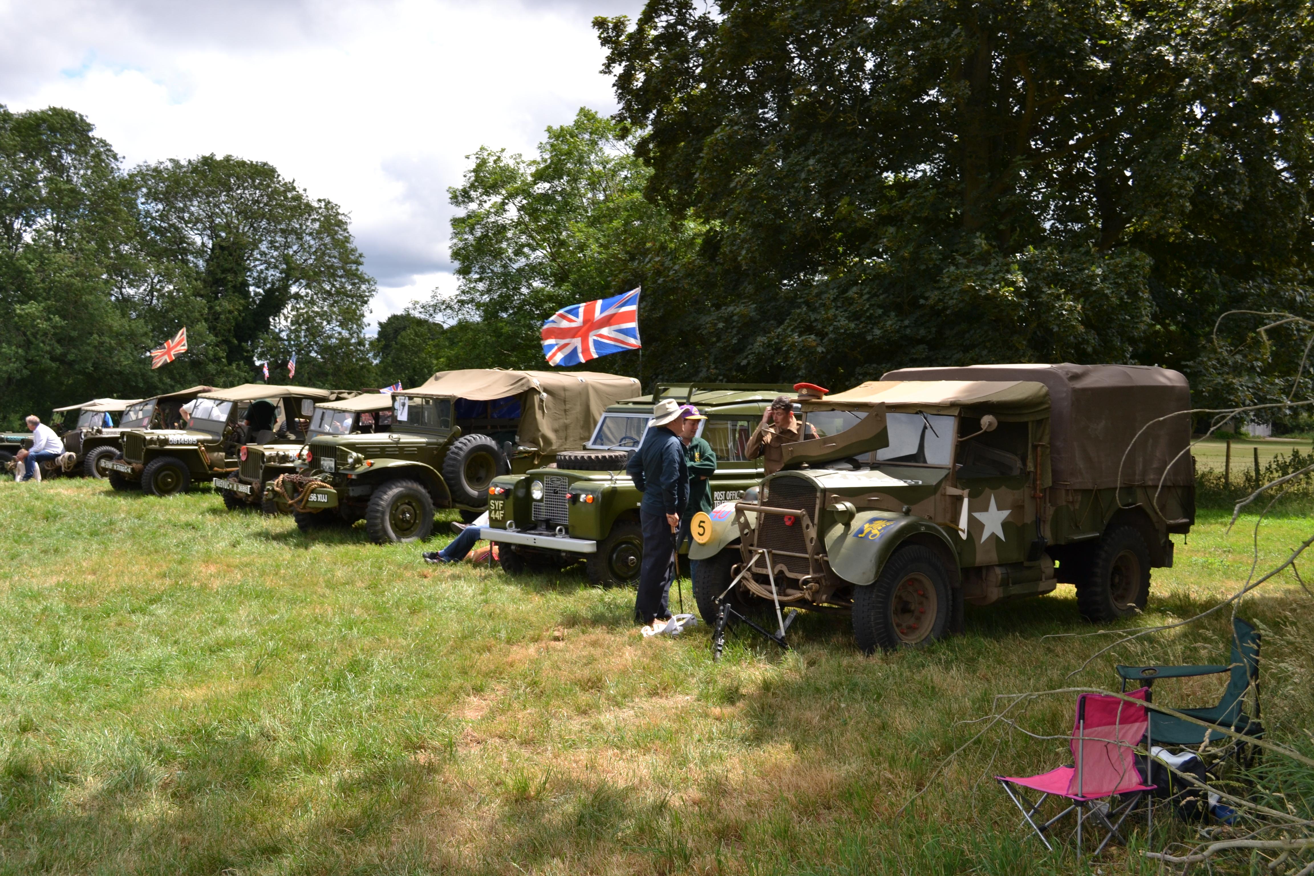 Yattendon Classic Car Day